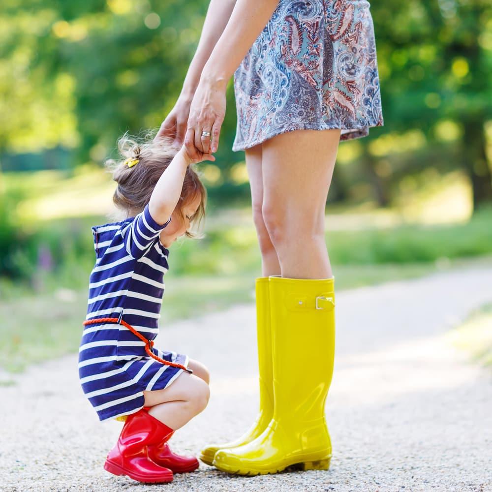 Sådan får du et velbalanceret og glad barn