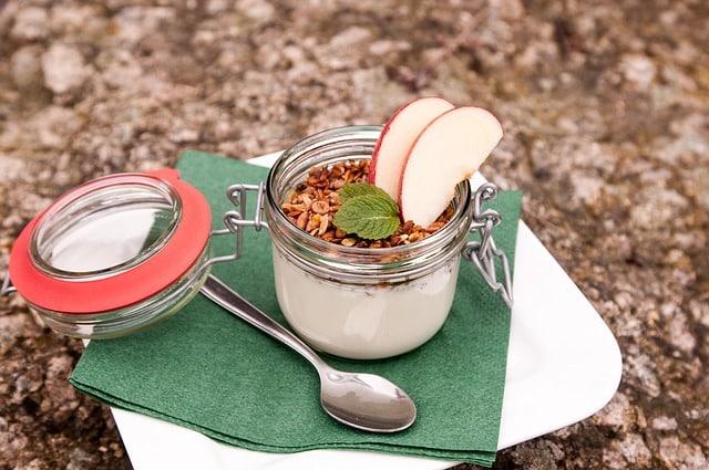 youghurt med musli
