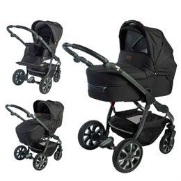 Babynor kombivogn - Svala - Sort