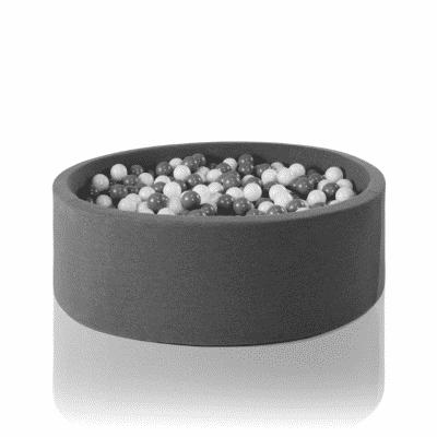 Misioo boldbassin grå - rundt 115 x 40 (inkl. 500 bolde)