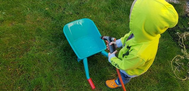 Skab en børnevenlig have, der ikke kræver meget tid
