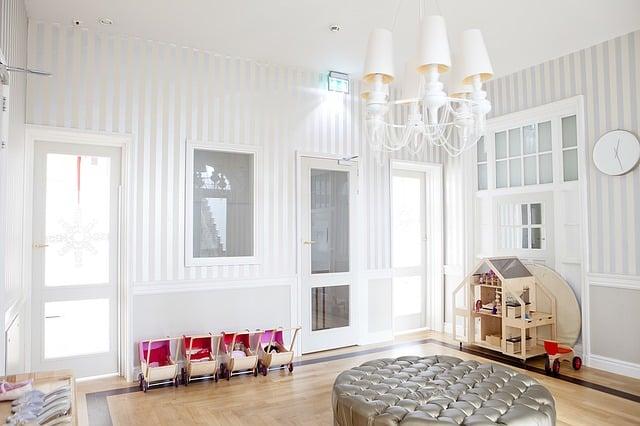 Indret dit barns værelse med lys