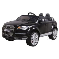 Audi Q7 12v elbil med fjernbetjening - sort