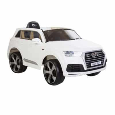 Audi Q7 El-bil Hvid