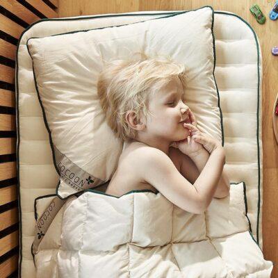 Cocoon Company madras med kapok - Baby - Stokke (babymadras)(69x120x7 cm.)