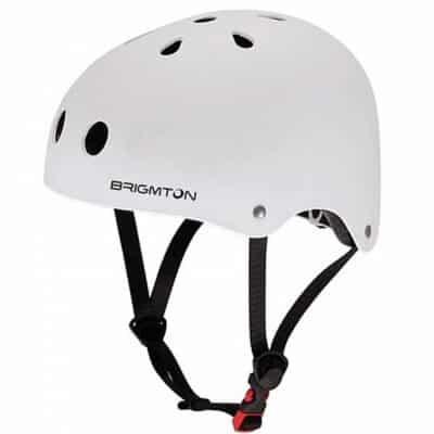Brigmton Bh-1 - Cykelhjelm Til Elektrisk Løbehjul - Hvid