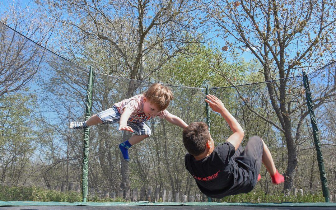 Fordele ved en nedgravet trampolin