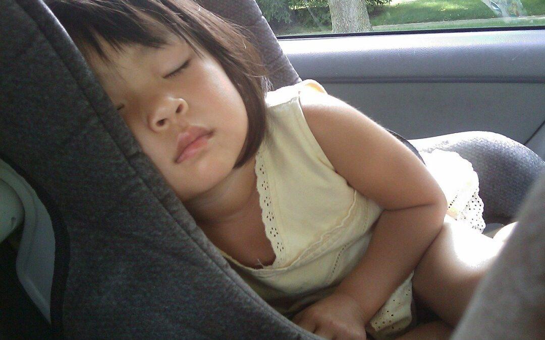 Et barn i en bil: ting der skal købes til børn indenfor bilkomfort og sikkerhed