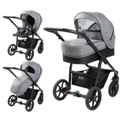 Babynor kombivogn - Birla - Steel