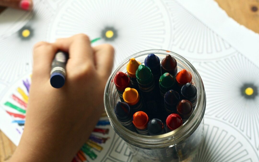 Tag del i dit barns kreativitet