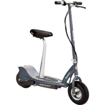 E300S Elektrisk løbehjul grå m. sæde - Razor 073815