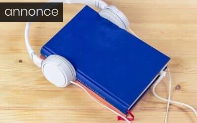 Sådan får du nemt din børnebog lavet om til en lydbog