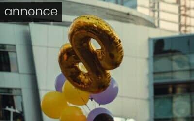 Tal-balloner, kage og et flot bord er essentielt til dit barns 1-årsfødselsdag